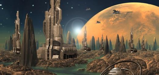 short science fiction stories, future city